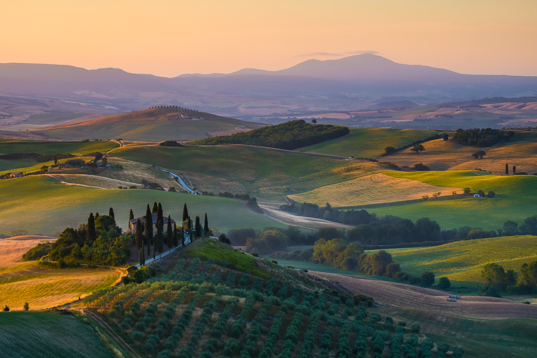 Val d'orcia, Italy - Tuscany Landscape Photography by Lorenz Berna