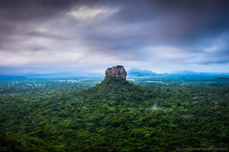 Sigirya from Pidurangala rock - A photography of Sri Lanka by Lorenz Berna