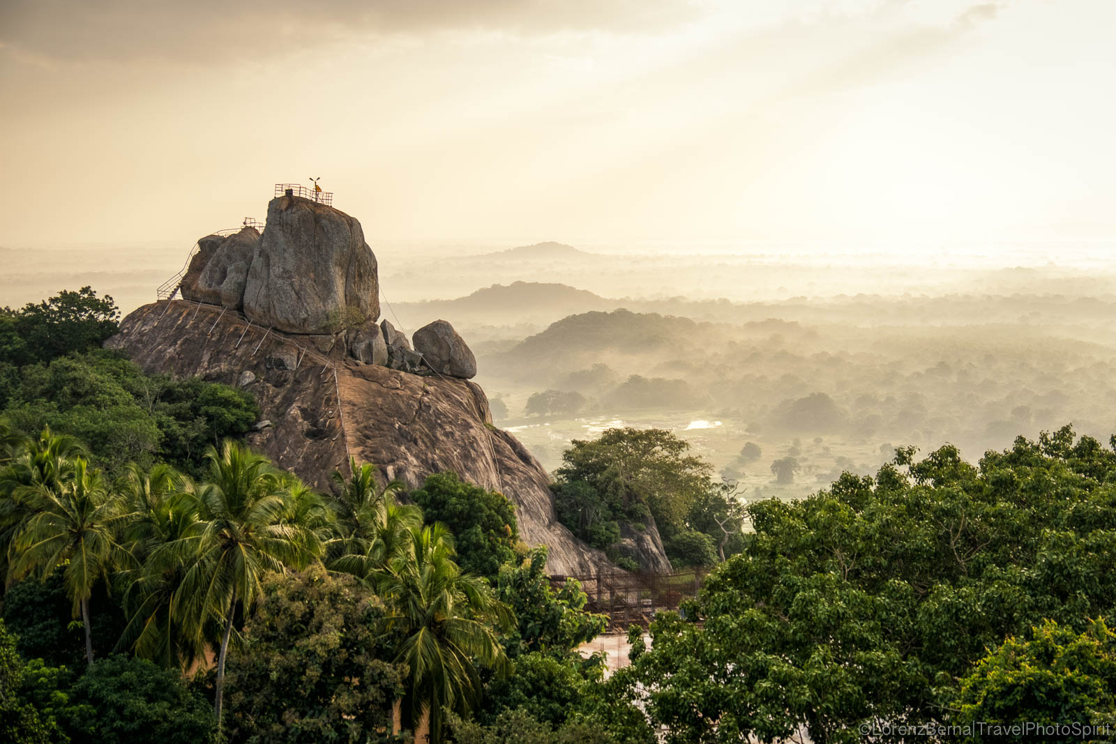 Mihintale Peak, first buddhist settlement in Sri Lanka - A travel photography by Lorenz Berna