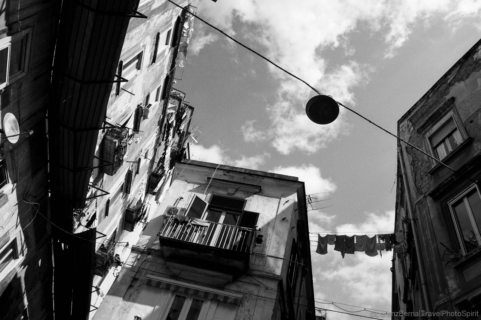 Urban Photography around the Spanish Quarter, Naples, Italy.