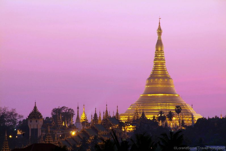 Shwedagon Paya in Yangon - A Lorenz Berna Photography of Myanmar