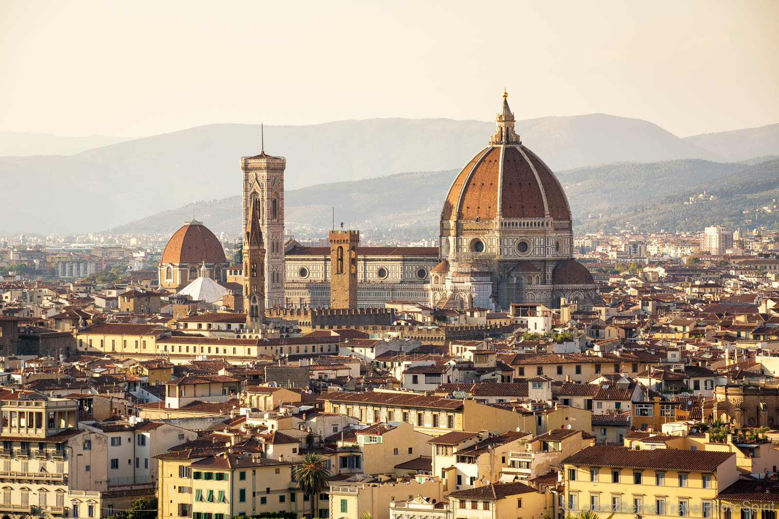 Florence and the iconic Santa Maria del Fiore Cathedral, Tuscany, Italy
