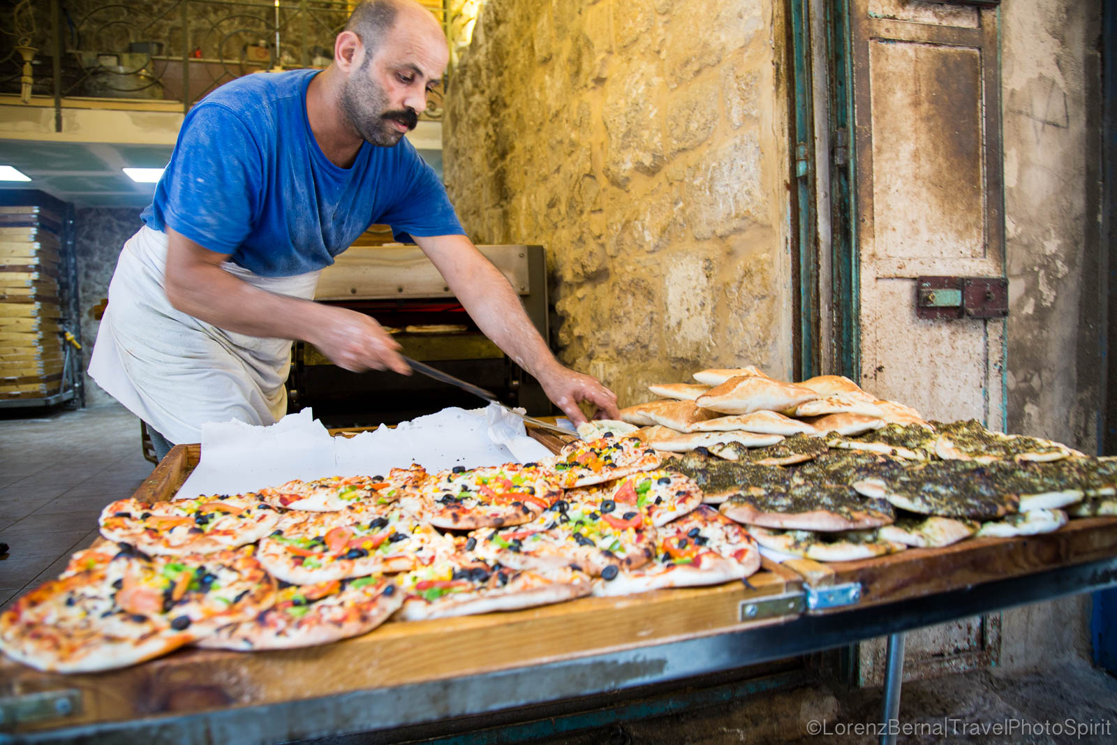 Street Food in Jerusalem.