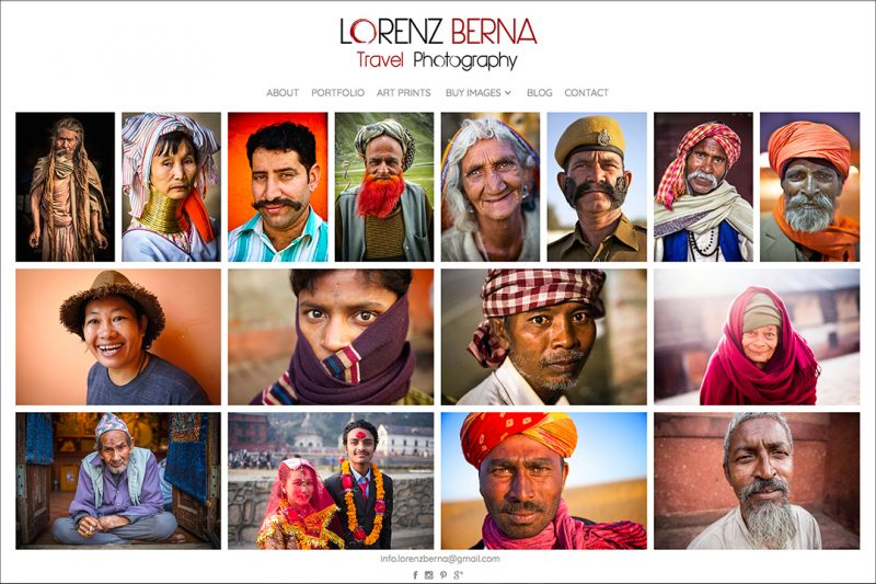 Travel Portraits, a photography portfolio by Lorenz Berna