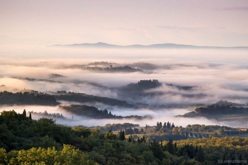 The Poetry of Autumn in Chianti - Chianti landscape Photography by Lorenz Berna